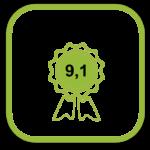 klanttevredenheid icoon